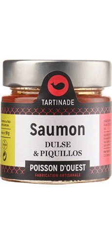 Tartinade »Saumon, Dulse & Piquillos«